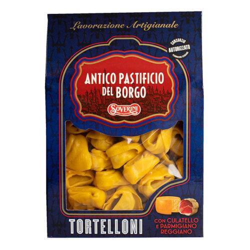 Tortelloni con Culatello parmigiano reggiano