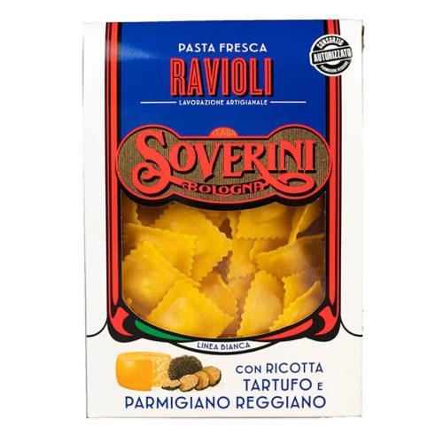 ravioli ricotta tartufo e parmigiano reggiano Soverini