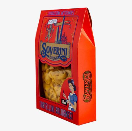 Packaging Tortellini Soverini